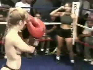 Real Topless Boxing