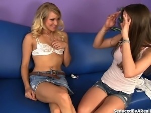 Bad Girl Teen Seduces Hot Friend