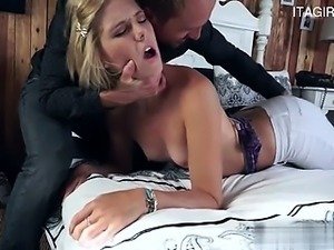 Young pornstar awesome blowjob