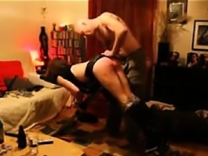 Caning her slutty ass without pity