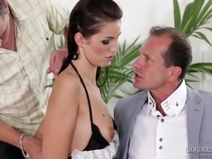 meg loves to be used @ dp the nanny with me #02