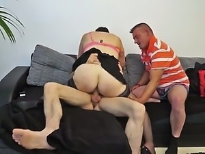 He shared his wife Celine in a gangbang