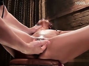 Horny girlfriend creampie