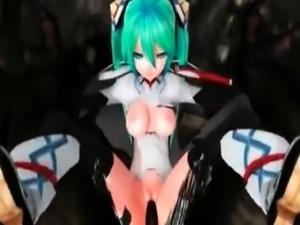 Hatsune Miku MMD01