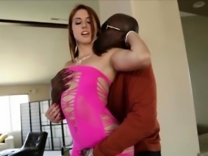 Goddess beauty Rose Red gets destroyed by black stud Lex