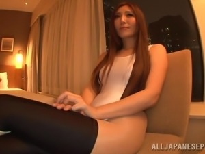 japanese race queen gets seduced