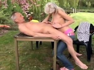 Paul is enjoying his breakfast in the garden with his fresh