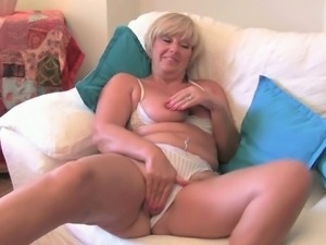 Horny British mature women masturbate
