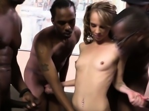 Interracial cumswallow
