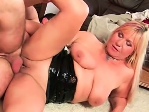 Mom will gladly take your cum load