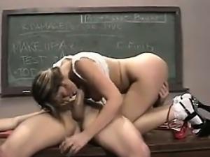 Bad Schoolgirl Punished By Her Teacher