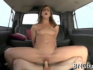 Naughty sex offering for cute darling