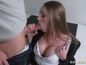 shawna's big tits attract a lusty man