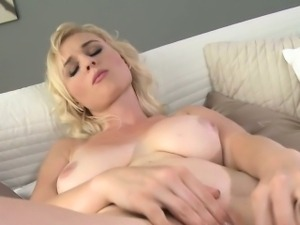Natural busty mature masturbating to orgasm