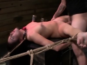Bdsm sub fucked roughly