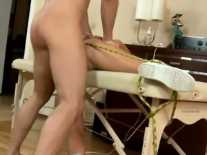 Bound Blonde Czech Gets squirting Lesson