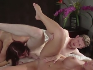 Moms In Control: Farrah Dahl and Janet Mason 3some