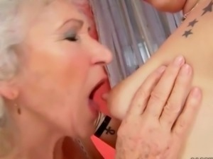 Grannies and Teens Lesbian Love Compilation