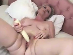 Mature European Dick Riding At Home