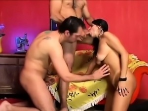 Horny Bi Guys Sharing Indian Babe