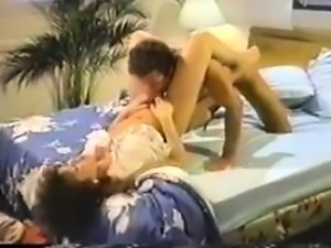 Dana Lynn, Nina Hartley, Ray Victory in classic sex clip