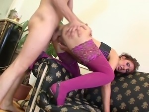 Anal with mom