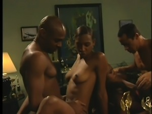 Africa and Kimber Blake in a foursome changing off on their pricks