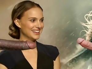 Natalie Portman - hottest 2 Minute Jerk-O-Challenge - Cum Now!