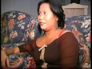 Asian MILF fucks Young Couple