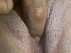 Latina W/ A Fat/Wet Pussy Getting Teased By Her Hubby! Made Her Cum Hard AF