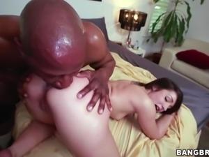 Petite Lola Foxx Takes A Monster Cock Pounding