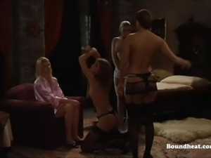 Slave Whipped and Spanked by Mistress