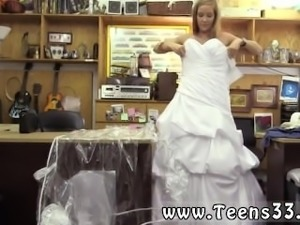 School girl train full length A bride's revenge!