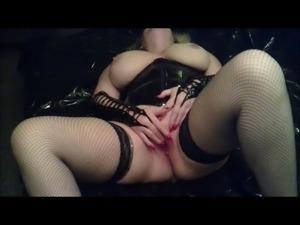 MILF wife cumming 12 times female orgasm compilation
