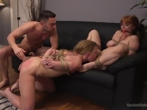 My friend Penny, and I love to be dominated. We have no problems getting tied...