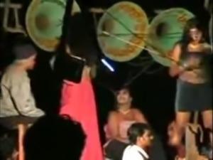 telugu recording dance from village