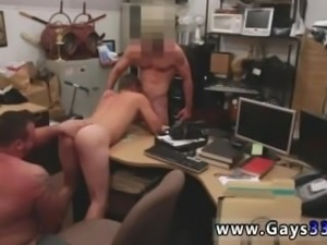 Straight boys shaving each other gay porn Guy finishes up with anal
