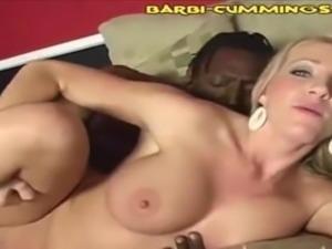 Barbie Cummings Interracial Creampie Compilation