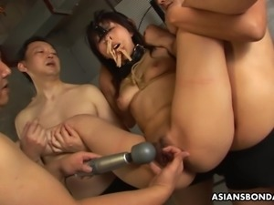 She never had a bdsm session like this before