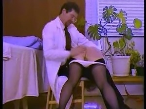 Temperature Rising - Naughty nurses get spanked hard