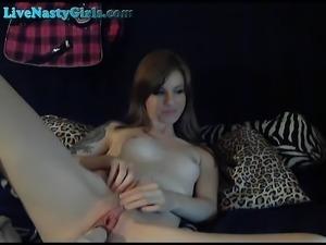Stunning Skinny Teen Dildos To Orgasm