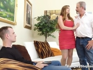 Horny Stepmom Just Can't Get Enough!