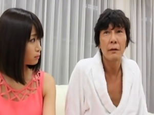 Leggy Asian babe with perky beautiful tits enjoying a hardcore fuck