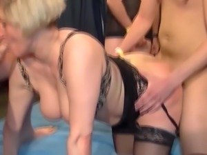 Kinky moms fuck younger boys
