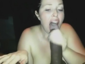 Hot naughty chubby blowjob BBC - amateur