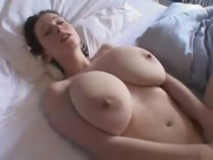 I like showing off my big tits and masturbating for someone else