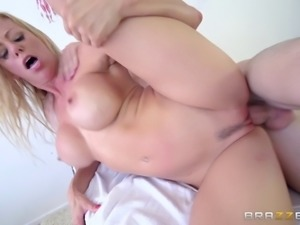 Her partner is skinny but he has a big dick and Alexis loves it!