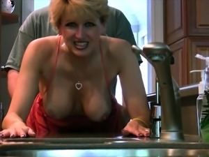 Mature Lady Fucks and Sucks