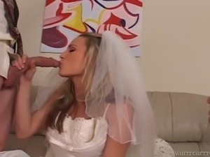 cuckolded on my wedding day threesome