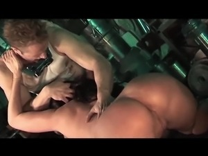NOT NOW JOHN - big tits babe in stockings fucked music video